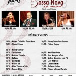Flyer do Bossa Nova in Concert